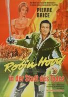L'invincibile cavaliere mascherato - German Movie Poster (xs thumbnail)