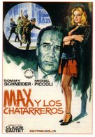 Max et les ferrailleurs - Spanish Movie Poster (xs thumbnail)