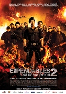 The Expendables 2 - Romanian Movie Poster (xs thumbnail)