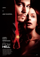 From Hell - Danish Movie Poster (xs thumbnail)