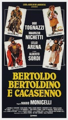 Bertoldo, Bertoldino e... Cacasenno - Italian Theatrical poster (xs thumbnail)