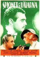 Secret Agent - Swedish Movie Poster (xs thumbnail)