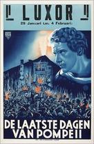 The Last Days of Pompeii - Dutch Movie Poster (xs thumbnail)