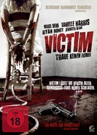 The Victim - German DVD cover (xs thumbnail)