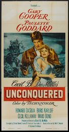 Unconquered - Theatrical movie poster (xs thumbnail)