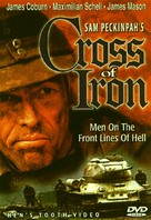 Cross of Iron - DVD cover (xs thumbnail)