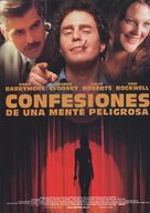 Confessions of a Dangerous Mind - Spanish Movie Poster (xs thumbnail)