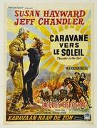 Thunder in the Sun - Belgian Movie Poster (xs thumbnail)