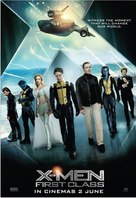 X-Men: First Class - Malaysian Movie Poster (xs thumbnail)
