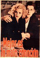 Rich and Strange - Spanish Movie Poster (xs thumbnail)