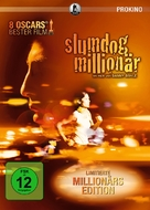 Slumdog Millionaire - German Movie Cover (xs thumbnail)