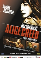 The Disappearance of Alice Creed - Polish Movie Poster (xs thumbnail)