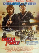 The Delta Force - Danish Movie Poster (xs thumbnail)