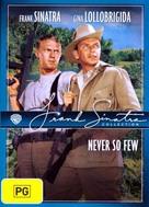 Never So Few - Australian DVD cover (xs thumbnail)