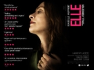 Elle - British Movie Poster (xs thumbnail)