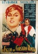 Il figlio del corsaro rosso - Italian Movie Poster (xs thumbnail)