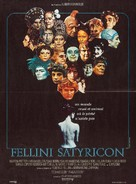 Fellini - Satyricon - French Movie Poster (xs thumbnail)