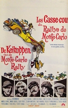 Monte Carlo or Bust - Belgian Movie Poster (xs thumbnail)