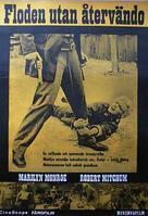 River of No Return - Swedish Movie Poster (xs thumbnail)
