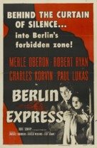 Berlin Express - Re-release poster (xs thumbnail)