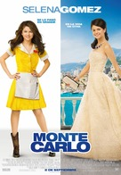 Monte Carlo - Spanish Theatrical poster (xs thumbnail)