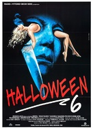 Halloween: The Curse of Michael Myers - Italian Movie Poster (xs thumbnail)