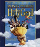 Monty Python and the Holy Grail - Blu-Ray movie cover (xs thumbnail)
