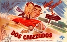 Here Come the Co-eds - Spanish Theatrical poster (xs thumbnail)