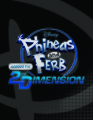 Phineas and Ferb: Across the Second Dimension - Logo (xs thumbnail)