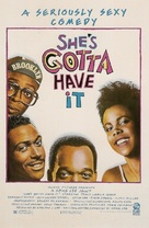 She's Gotta Have It - Movie Poster (xs thumbnail)