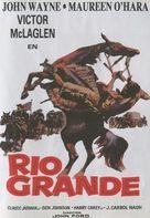 Rio Grande - Spanish DVD movie cover (xs thumbnail)
