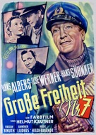 Große Freiheit Nr. 7 - German Movie Poster (xs thumbnail)