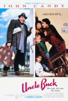 Uncle Buck - Advance movie poster (xs thumbnail)