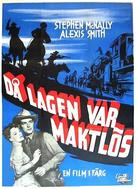Wyoming Mail - Swedish Movie Poster (xs thumbnail)