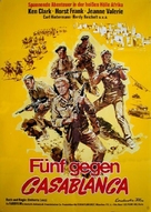 Attentato ai tre grandi - German Movie Poster (xs thumbnail)