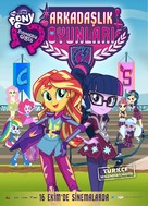 My Little Pony: Equestria Girls - Friendship Games - Turkish Key art (xs thumbnail)