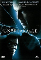 Unbreakable - Swedish Movie Cover (xs thumbnail)