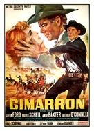 Cimarron - Italian Movie Poster (xs thumbnail)