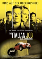 The Italian Job - German Movie Poster (xs thumbnail)