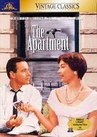 The Apartment - DVD cover (xs thumbnail)