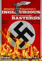Inglourious Basterds - DVD movie cover (xs thumbnail)