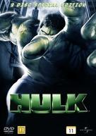 Hulk - Danish DVD cover (xs thumbnail)