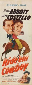 Ride 'Em Cowboy - Movie Poster (xs thumbnail)