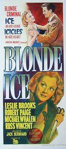 Blonde Ice - Australian Movie Poster (xs thumbnail)