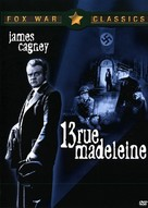 13 Rue Madeleine - DVD cover (xs thumbnail)
