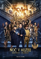 Night at the Museum: Secret of the Tomb - Slovenian Movie Poster (xs thumbnail)