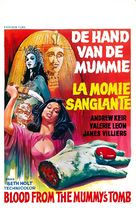 Blood from the Mummy's Tomb - Belgian Movie Poster (xs thumbnail)