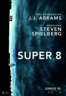 Super 8 - Hungarian Movie Poster (xs thumbnail)