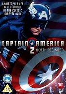 Captain America II: Death Too Soon - British Movie Cover (xs thumbnail)