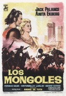 Mongoli, I - Spanish Movie Poster (xs thumbnail)